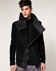 Black coat. For ever yes