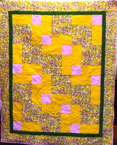 A sunny kit quilt.