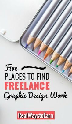 Are you looking to get started working at home doing graphic design? Here are five places to find work.