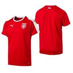 68665fc18 Serbia NEW PUMA ADULT FOOTBALL SOCCER WC18 HOME JERSEY SHIRT BNWT National  Football Teams, Football