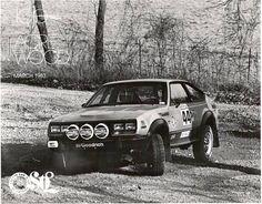 Dean Blagowski 1982 AMC Eagle race car in 1983 - 100 Acre Woods Race