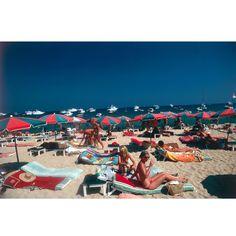 Slim Aarons - Beach At St. Tropez
