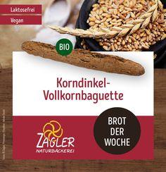 Für alle Vollkorn-Liebhaber - unser Korndinkel-Vollkornbaguette 🌾 ➡️ Die Dinkelsorte Oberkulmer Rotkorn ist eine äußerst ursprüngliche Dinkelsorte ohne züchterische Weizeneinkreuzungen, die in den Dörfern unserer Umgebung angebaut wird. Wir vermahlen das gesamte Korn in der hauseigenen Zentrofanmühle und setzen unseren eigenen Dinkelvollkornsauer an. #zagler #zaglerbäckerei #naturbäcker #naturbäckerei #backen #dinkel #dinkelbrot #dinkelbaguette #dinkelkorn #vollkorn #vollkornbaguette #bio… Vegan, Cereal, Beef, Breakfast, Food, Spring, Environment, Bakken, Meat