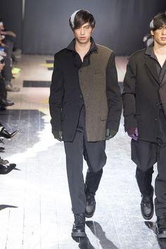 Yohji Yamamoto Fall Winter 2015- Otoño Invierno #Menswear #Trends #Tendencias #Moda Hombre