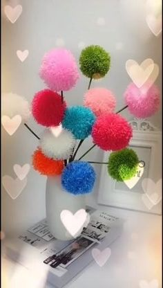 Diy Crafts For Gifts, Diy Home Crafts, Creative Crafts, Crafts For Kids, Diy Gifts Videos, Disney Diy Crafts, Rustic Crafts, Mothers Day Crafts, Summer Crafts