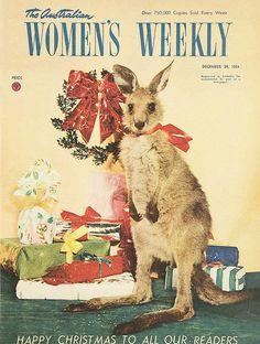 The Australian Womens Weekly, 29 December 1954 Aussie Christmas, Australian Christmas, Christmas Time, Christmas Ideas, Old Magazines, Vintage Magazines, Childrens Christmas, Vintage Christmas, Vintage Images