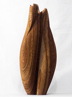 LMBRJK wood vase - laser cut and hand assembled