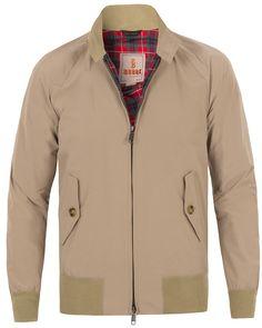 73e51e77 Baracuta G9 Original Harrington Jacket Natural hos CareOfCarl.com  Windbreaker