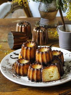 recipe: Canelés au cointreau  When the mimosas bloom, you know it´s almost spring - not here in Paris, but some where at least. No...