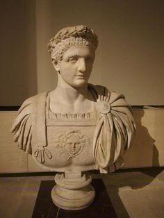 Bust of Emperor Domitian - Louvre Domitian (Latin: Titus Flavius Caesar Domitianus Augustus; 24 October 51 – 18 September 96) was Roman emperor from 81 to 96. Domitian was the third and last emperor of the Flavian dynasty