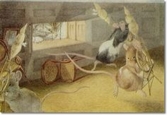 Beatrix Potter - Three Little Mice Sat Down to Spin - What are You at My Fine Little Men