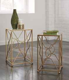 Nesting End Tables