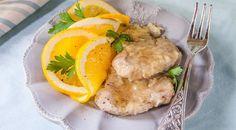 La ricetta delle piccatine agrumi e miele. Le piccatine agli agrumi glassate con miele di castagno sono un secondo piatto dal gusto originale e irresistibile.