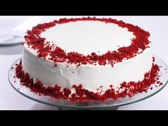 The Most Amazing Red Velvet Cake recipe is moist, fluffy, and has the perfect balance between acidity and chocolate. Top it off with cream cheeses frosting for the perfect Red Velvet Cake you've been dreaming of! Red Velvet Cake Decoration, Chocolate Cake With Coffee, French Chocolate, Raspberry Chocolate, Chocolate Cups, Impressive Desserts, Pumpkin Cheesecake Recipes, Cakes Today, Baking