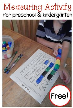 Measuring with nonstandard units: measure your body parts with unifix cubes
