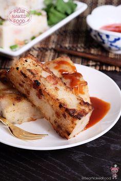 Bear Naked Food Hong Kong Style Radish Cake