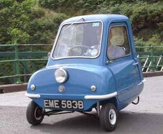 The Peel P50 is a three-wheeled microcar originally manufactured from 1962 to 1965 by the Peel Engineering Company on the Isle of Man.