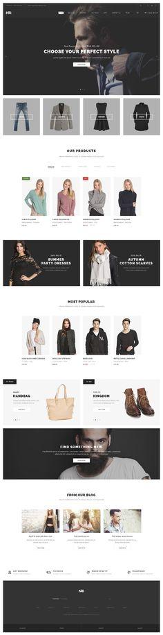Web Design Inspiration from NRG 1