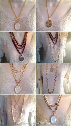 Premier Designs jewelry combos with Avery necklace. Work It necklace. Riviera necklace. Pompeii necklace.
