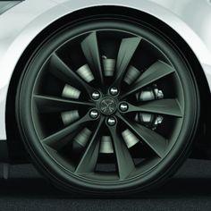 "Tesla -  21"" Turbine Wheel and Tire Package - Grey"