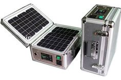 Solar Suitcase: Self-Contained Portable Solar Power Station -Portable Solar Power Station: Solar Suitcase I'm a huge fan of solar power systems, in particular, those you can build yourself. But, I understand if you want something that's already done for you. Enter the portable solar power station in the form of the Solar Suitcase. (currently on sale for $349)