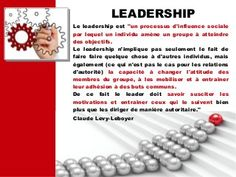 Leadership : 12 outils incontournables Leadership, Business, Learning, Tools