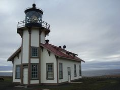 Lighthouse in Mendocino
