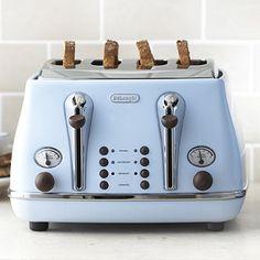 Delonghi Vintage Icona Toaster Blue - From Lakeland