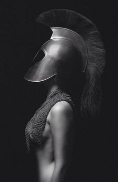 Photographer Unknown - Fashion Photography - Greek Mythology - Athena concept ideas by vladtodd Art Photography, Fashion Photography, Conceptual Photography, Warrior Princess, Greek Mythology, Black And White Photography, Role Models, Portraits, Pictures