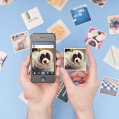 This website brings your Instagrams to life! Your 9 favorite photos in 9 magnetic mementos//