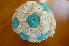 tiffany blue wedding boquets | Some Colors Flowers make the Tiffany Blue Wedding Look Best.