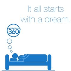 #MotivationalMonday #Inspiration360 It all starts with a dream.