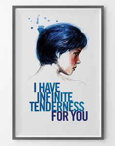 Movie Poster La vie d'Adèle Blue is the warmest by BagApart