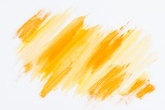 Abstract yellow brush stroke on white background free photo Brush Background, Pastel Background, Watercolor Background, Textured Background, Background Images, Background Banner, Watercolor Cactus, Watercolor Texture, Vintage Grunge