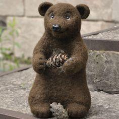 Pinecone bear.