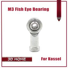 1Pcs 3D Printer Accessories Kossel Delta Parallel Arm Fish Eye Bearing Gimbal Bearing Accurate