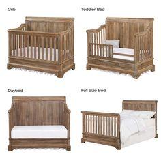 Bertini Pembrooke Convertible Crib in Natural Rustic – Baby Ideas Baby Bedroom, Baby Boy Rooms, Baby Boy Nurseries, Nursery Room, Nursery Decor, Rustic Baby Nurseries, Baby Beds, Baby Boy Cribs, Babies Nursery