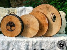 Traditional drums with raw hide.. Uniqe premium quality handcrafted drums shamandrums frame drums from a family workshop. Instruments inspired by nature made with love. http://ift.tt/2yIZK1e http://www.vpdrums.com http://ift.tt/2yHL1BW  #drums #drumming #soundhealing #soundtherapy #meditation #meditationart #music #framedrum #instruments #handmadeinstruments #universe #totem #talisman #symbol #success #spiritual #handcrafted #spirit #medicine #native #shamanism #shamanic #art #saintwood…