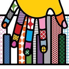 craig and karl Graphic Design Illustration, Illustration Art, Art Graf, Craig And Karl, Show Of Hands, Elements And Principles, Interior Design Work, Black Girl Art, Mid Century Modern Art