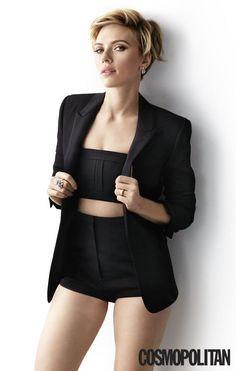 Scarlett Johansson for Cosmopolitan