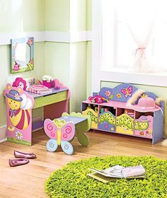 Cute furniture for girl's room.  so cute!