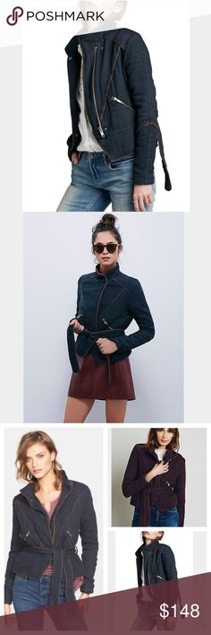 ‼️LOWEST‼️Free People jacket-NWT-size small Free People jacket-NWT- size small. Super comfortable double cloth twill jacket. Features zipper closure, adjustable waist tie, zippered pockets, and contrast piping. 100% cotton. Heavier than you may expect. SO soft and comfy!! Sold out! Only reason I'm selling is b/c it's too big. I love this jacket! Free People Jackets & Coats