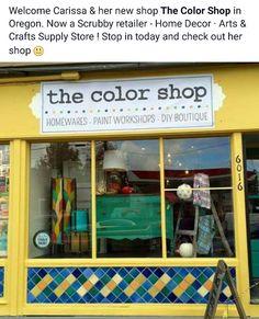 50/50 mix Arles and English Yellow Chalk Paint ® at the shop!