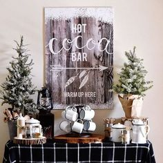 Planning a hen party? These brilliant budget hen party ideas and hen party games will ensure your night is full of fun, laughter and unforgettable memories! Hot Cocoa Bar, Hot Cocoa Mixes, Hen Party Games, Cocoa Cookies, Popcorn Bar, Coffee Bar Signs, Hot Chocolate Bars, Marshmallows, Christmas Ideas