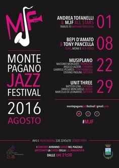 """Al via il """" Montepagano jazz Festival"""". Ecco il programma delle serate"""