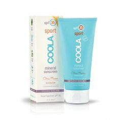 Coola Suncare Mineral Sport Sunscreen SPF 35 from Jule's Wellness