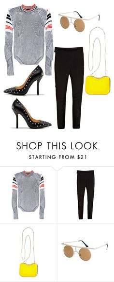 na na na by astridlund on Polyvore featuring Alexander Wang, 3.1 Phillip Lim, Zara, Fendi and ASOS
