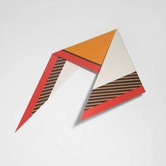 Stunning 3D Geometrical Paintings – Fubiz Media