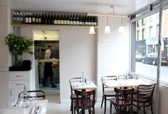 """""""Mayfields"""" is a neighbourhood dining room situated on Wilton Way, Hackney. Our menu features a range of small plates, to encourage sharing amongst diners, which are based on the freshest produce we can source every day. We also serve a selection of affordable and interesting wines in relaxed surroundings. 52 Wilton Way, London, Greater London E8 1BG, UK"""