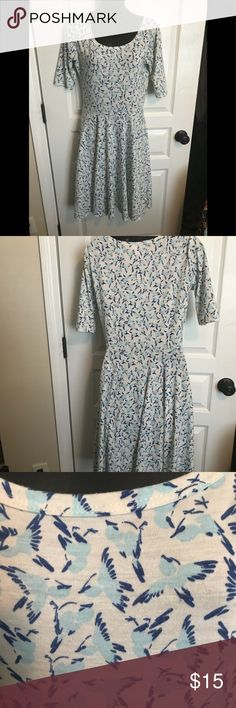 LuLaRoe Size M The cutest spring dress LuLaRoe Dresses Midi
